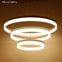 LED Pendant Lights Modern Light Fixtures For Dinning Room Bedroom Restaurant Living Room Acrylic Kitchen Home