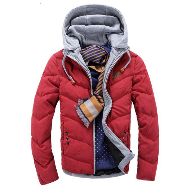 ФОТО 2017 New Arrive Autumn and Winter Mens Jacket and Coats Fashion Men  Coats Men's Cotton-Padded Clothes
