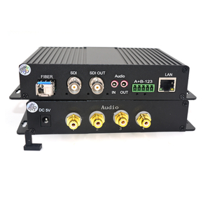 Image 2 - High Quality HD SDI Video/Audio/Ethernet Fiber Optical Media Converters Transmitter and Recevier for SDI CCTV,LC