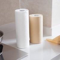 50 шт./Рулон нетканые одноразовые ткань для очистки бумага кухня автомобиль стол для мытья посуды одежда бросить анти-жирная тряпка