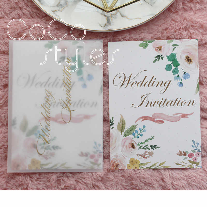Cocostyles Custom Elegant Floral And Greenery Design With Tracing