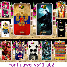 Soft TPU Plastic Phone Case For Huawei Y541-U02 For For Huawei Honor Bee Y541 Y5C 4.5 inch Y541-U02 Painted Case Cover Housing