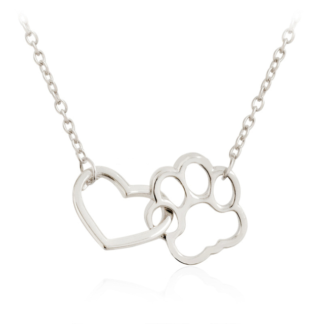 Heart and Paw Style Necklace