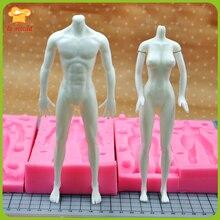 LXYY Form Hochwertigen Platin Silikon Ton Körper Puppe Silikon Geformt Körper Männer und Frauen Beine Silikonform