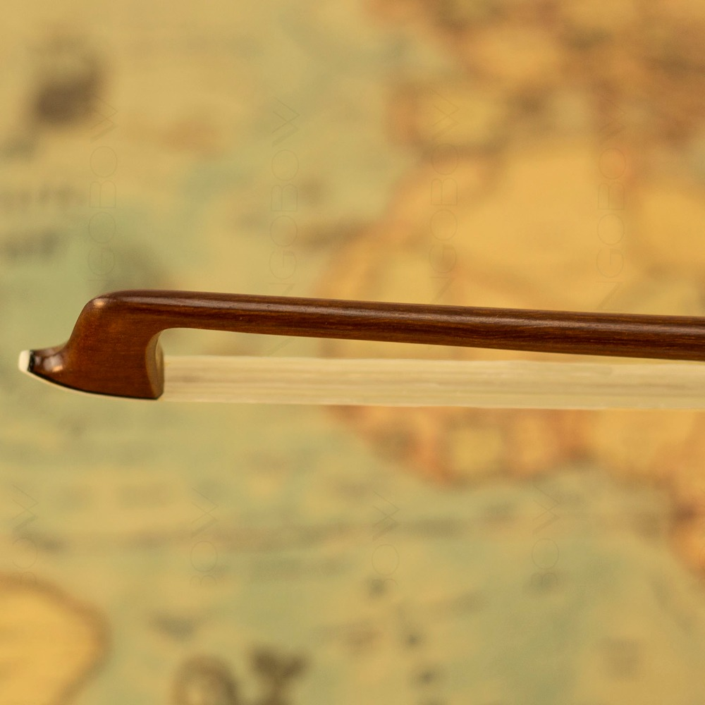 430V 4/4 Size VIOLIN BOW Pernambuco Stick Ebony Frog Nickel Silver - Երաժշտական գործիքներ - Լուսանկար 4