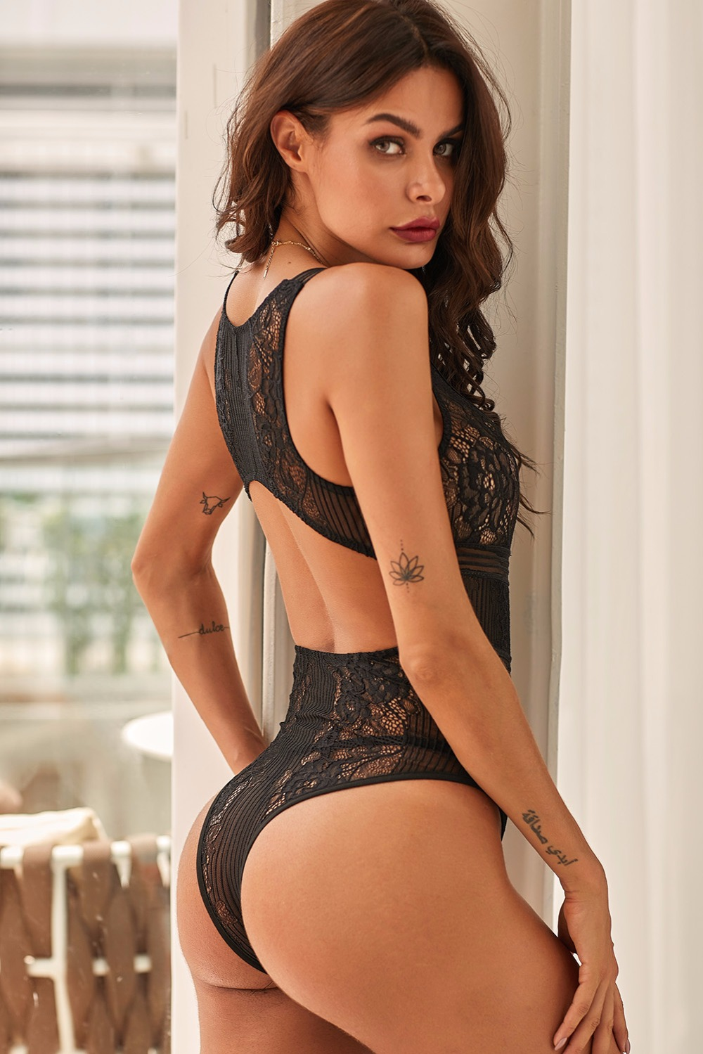 Too-Bad-I-m-Bad-Black-Lace-Open-Back-Bodysuit-LC32392-2-8