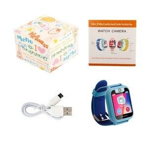 Image 5 - Reloj inteligente para niños S6 reloj para bebés SIM GPRS rastreador en tiempo Real reloj inteligente antipérdida para niños con cámara PK Q528 Q50 Q90