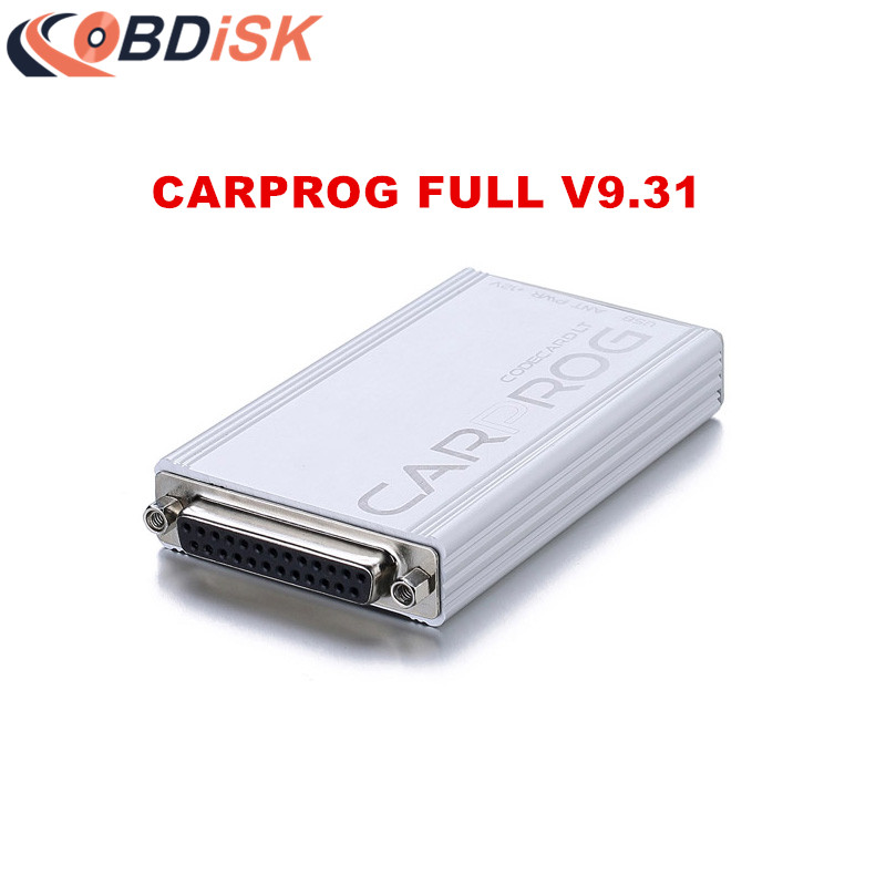 2017 Newest Carprog V9 31 Carprog Full Airbag Reset with All Softwares Activated and all 21