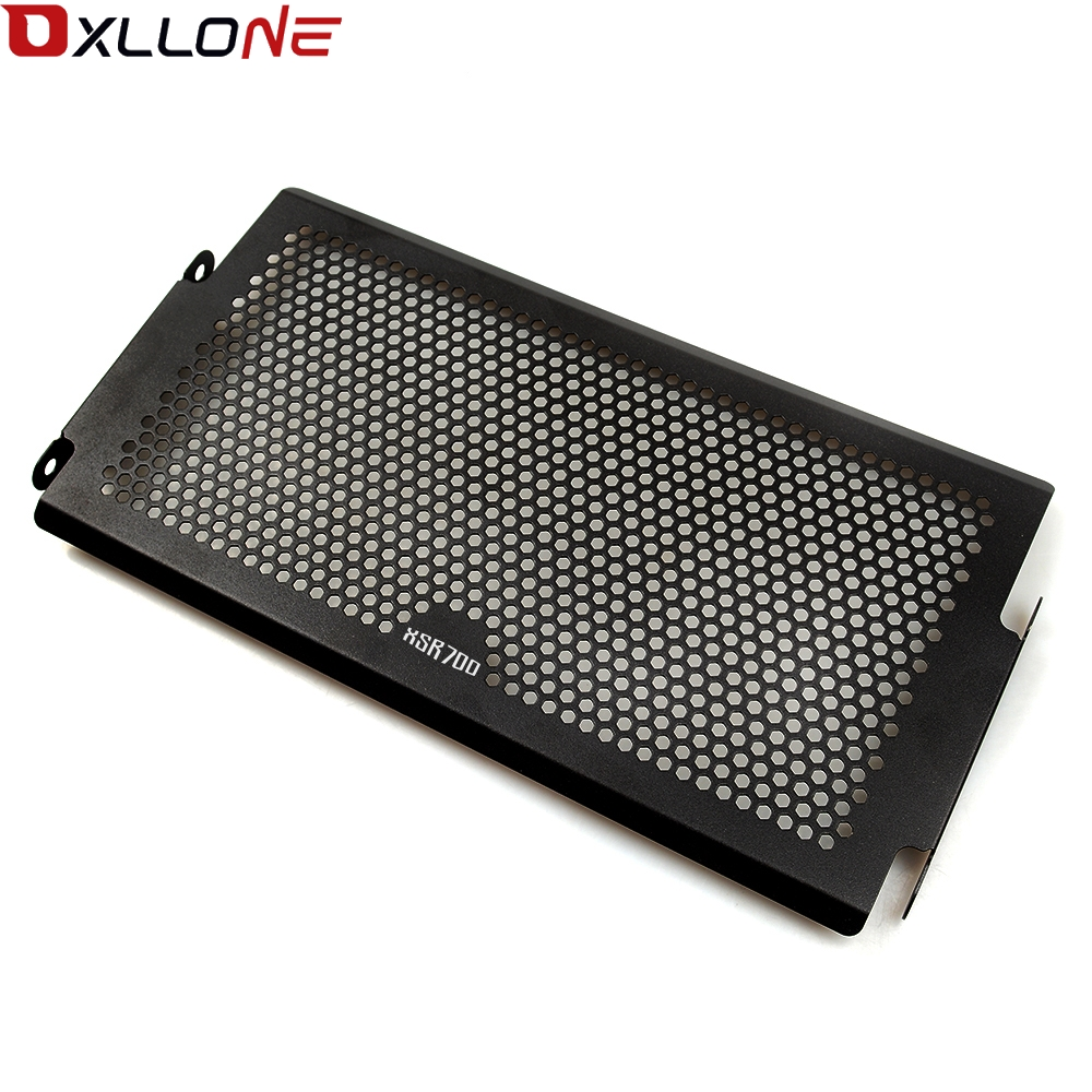 Image 2 - For Yamaha Mt07  Mt 07 FZ07 FZ 07 MT 07 2014 2018 XSR700 radiator protective cover Guards Radiator Grille Cover Protecter-in Covers & Ornamental Mouldings from Automobiles & Motorcycles