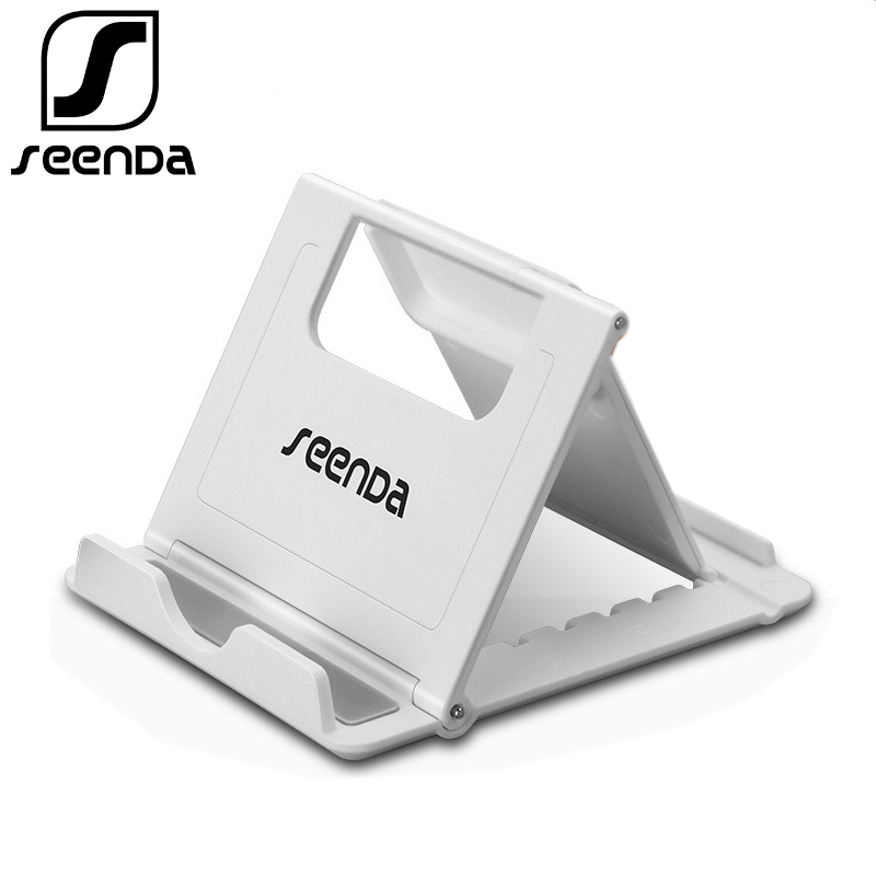 SeenDa Multi-Angle Phone Stand For IPhone Foldable Desk Phone Holder Universal Mobile Phone Stand For Samsung Vivo Black Friday