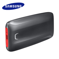 Samsung Portable SSD X5 500GB 1TB 2TB External Solid State Drive Thunderbolt 3 NVMe สำหรับ Sever แล็ปท็อปเดสก์ท็อป