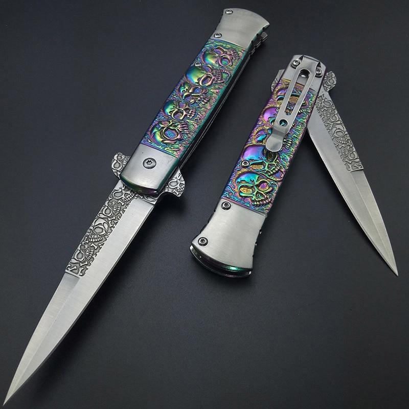 Italijos spalvos titano lauko įrankių peiliai daugiafunkcinis - Rankiniai įrankiai - Nuotrauka 3