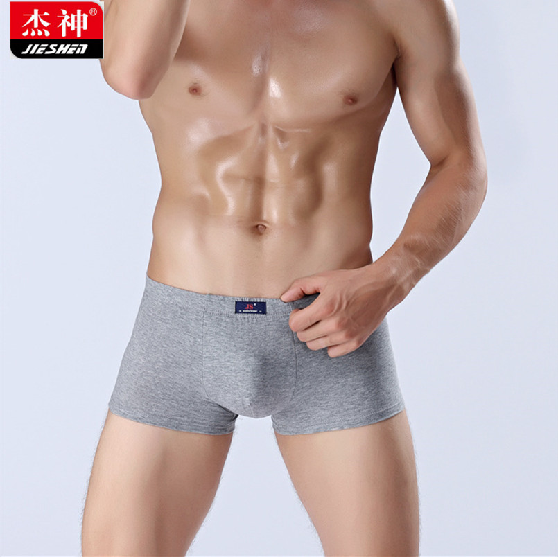 Mens Boxers Underwear Men Soft Cotton Panties New Breathable Underpants Male Sexy Boxers U-Shape Pouch Cueca Masculina 1pcs
