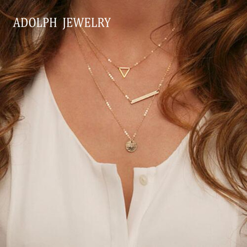 b0fb07765e7d Joyería de Adolph para las mujeres 2015 nuevo collar Maxi collar  declaración de moda Collares aleación de zinc geometría Collares y colgantes