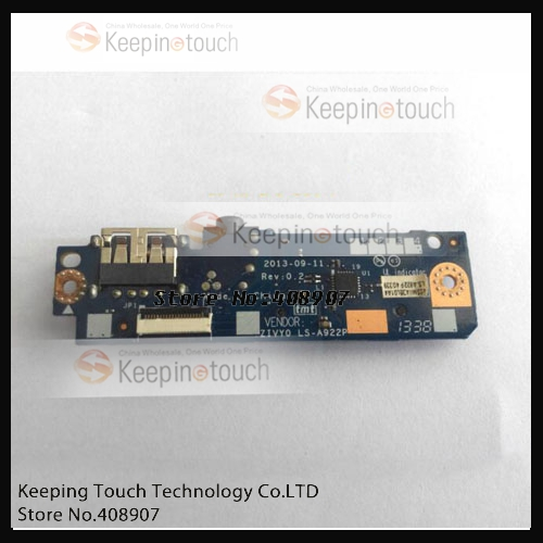 LCD Backlight Power inverter Board PCB For Yoga 2 13 20344 Laptop Audio USB  Card Reader Board LS A922P-in Industrial Computer & Accessories from  Computer ...