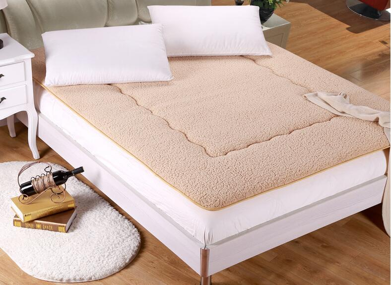 High quality berber Fleece bed cushion Mattresses Portable keep warm Tatami