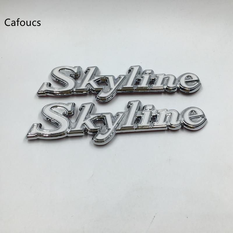 GT SMALL CAR EMBLEM PAIR Door Trim Badges suit Datsun C210 Nissan Skyline C110