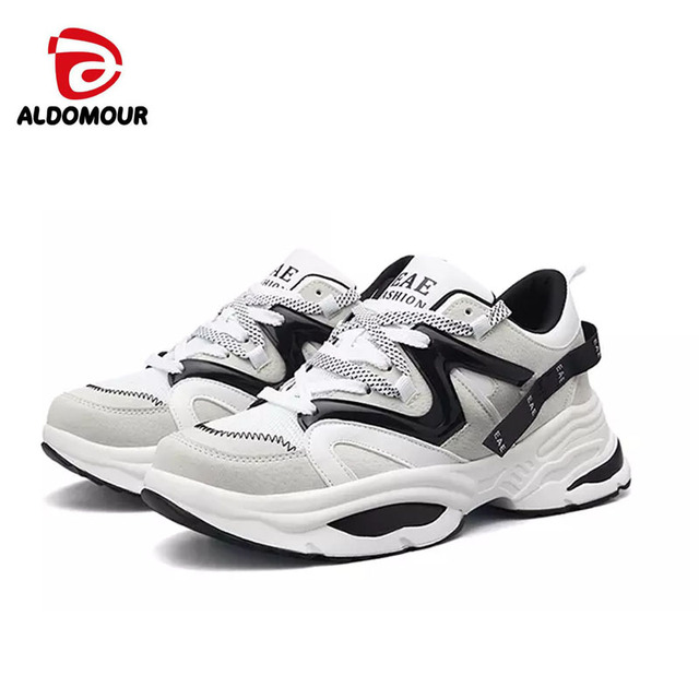 ALDOMOUR 2018  Winter Running shoes for Women Fashion Sneakers men Comfortable shoes Lithe Tennis Slippers Sport shoes 35-44 ljl