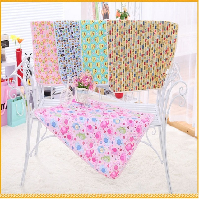 new reusable cute baby changing mat pads cover waterproof pad baby bedding sets pure cotton diapers