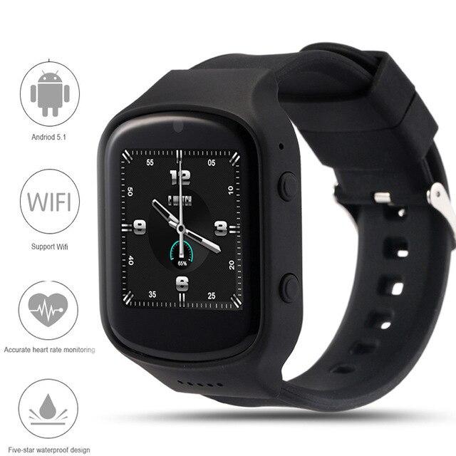 Z80 Смарт Часы Android 5.1OS MTK6580 Quad Core Smartwatch С 3 Г wi-fi Bluetooth GPS Магазине Play Google Сердечного ритма монитор