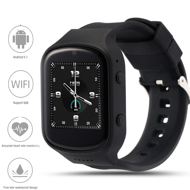 Z80 Smart Watch Android 5.1OS MTK6580 Quad Core Smartwatch With 3G wifi Bluetoot