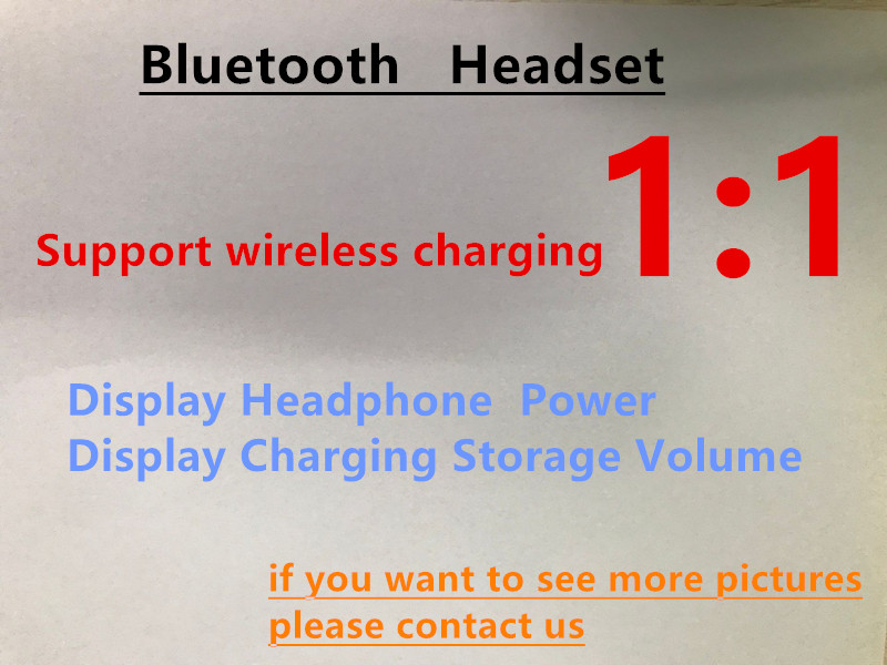 1PC high quality Airpods wireless Bluetooth earphone 2 generation 1 1with charging box for Ip8 X
