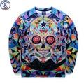 Mr.1991 brand youth brand 3D Multicolor skull printed hoodies boys teens Spring Autumn thin sweatshirts big kids sweatshirts W8