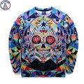 Mr.1991 marca juventud marca 3D Multicolor skull printed sudaderas niños grandes sudaderas sudaderas niños adolescentes Primavera Otoño fina W8