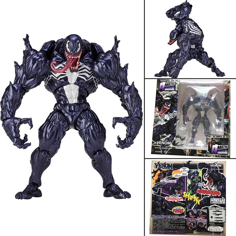 003 Marvel Venom Action Figure Free Shipping Kaiyodo Amazing Yamaguchi No