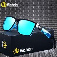 Viahda 2019 Популярные брендовые поляризованные солнцезащитные очки спортивные солнцезащитные очки для женщин очки для путешествий De Sol