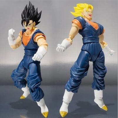 15cm Dragon Ball Z Vegeta Goku Joint movement Anime Action Figure PVC Collection toys for christmas gift free shipping