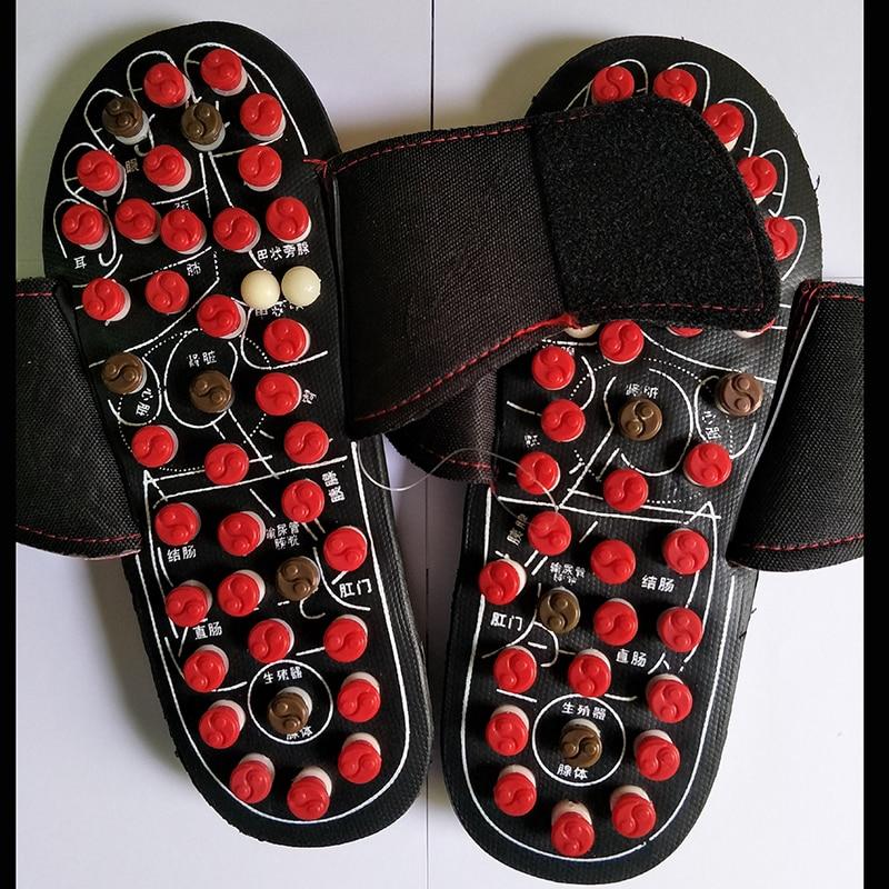 b6555639b16f8 Gossip Rotante Scarpe Sandalo Reflex Massaggi Pantofole Agopuntura Piede  Sano Agopunti Terapia Primavera Pattini di Massaggio Rilassanti in Gossip  Rotante ...