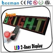 Leeman из светодиодов экран знак / высокой четкости красивый кристалл экран из светодиодов дисплей / из светодиодов мини движущихся сообщение знак н . э . панель
