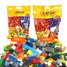 Building Blocks Sets City DIY Creative Bricks Creator Parts Compatible LegoINGs Classic Minecrafted My World Toys for Children