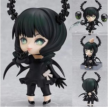 Vogue Game Anime Black Rock Shooter Dead Master Scythe Nendoroid #128 PVC 10CM Action Figure Toys New In Box A157