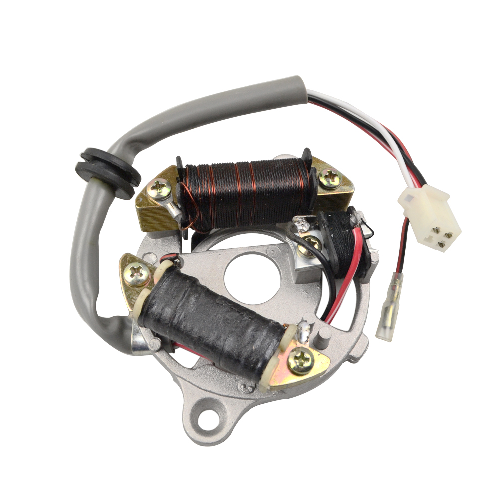 Motorcycle Magneto Ignition Stator Coil For Yamaha Pw50 Peewee Pw 50 Wiring Py50 Qt50 Dirt Pit Kid Bike Atv Motocross Parts D30 In Motorbike Ingition From