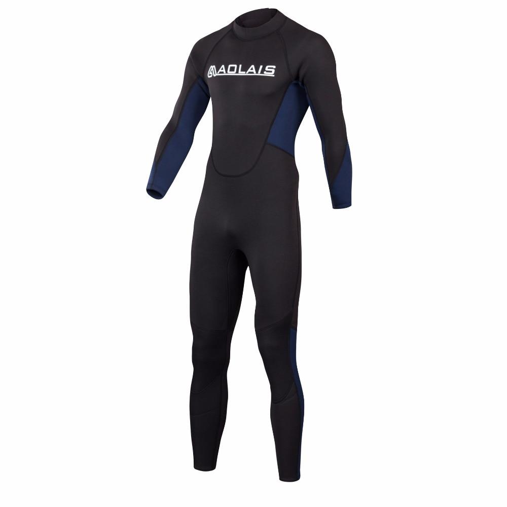 Women Men Spearfishing Wetsuit 3mm Neoprene One Piece Swimsuit Dive Surf  Swim Wet Suit Swimwear Long. sku  32843702708 fb51c30d0