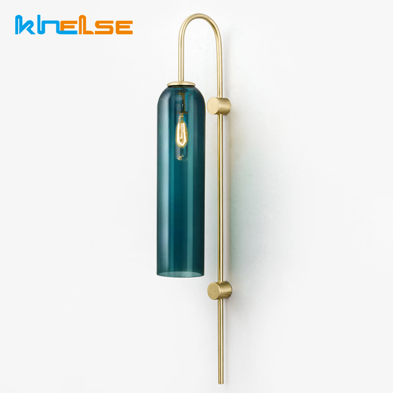 Modern Wall Lamp Foyer Bedside Wall Light Glass Ball Dining Bedroom E27 Wall Lamp Restaurant Aisle Corridor Pub Cafe Wall Sconce modern led wall lamp gold body glass dining room wall lamps cafe bedroom lights glass wall light e27 bedside lamp ac90 260v