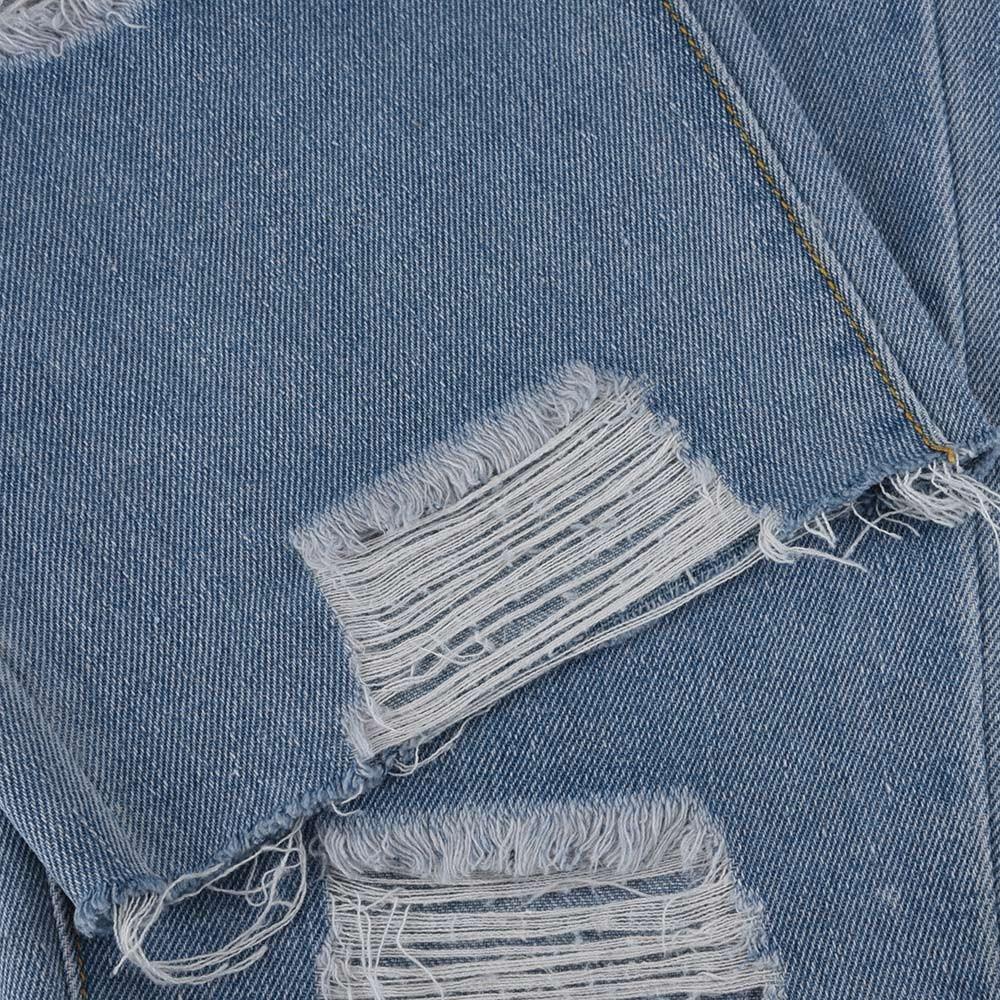 558b4792 Womens Ladies Summer Jeans Casual Elastic Denim Leggings Destroyed ...