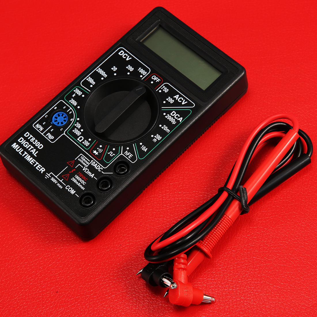 New Style Accessories Digital Multimeter with Buzzer Voltage Ampere Meter Test Probe DC AC LCD new restaurant equipment wireless buzzer calling system 25pcs table bell with 4 waiter pager receiver