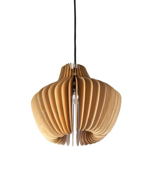 Ems Free Shipping E27 Pendant Light Wood Paper Lantern Shade Hanging Lamp Fixture For