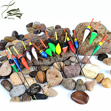 5PCS/Lot 1g-5g Day Night Fishing Float With 4PCS Glow Light Stick For Free Gift Pesca Boia Flotteur Peche Tackle Fishing Buoys