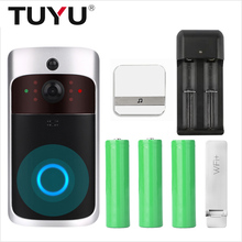 TUYU Night vision Smart WiFi Video Visual Intercom Doorbell Camera with Chime IP