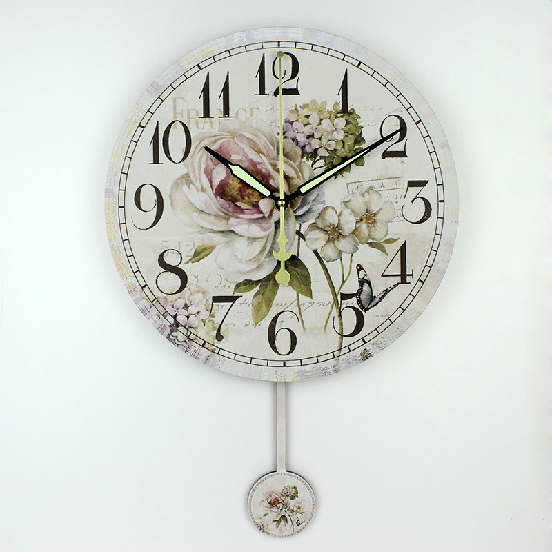 Fashion Silent Wall Clock Bedroom Decoration Large