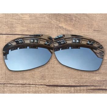 ab1e6ff64b Vonxyz cromo espejo polarizado lentes de recambio para Oakley Jupiter  cuadrado marco