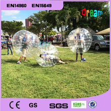 Inflatable toys bumper ball/ soccer bubble human hamster ball/inflatable zorb ball/bubble soccer