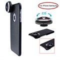 2017 New Camera Lenses Super 235 Degree Fish Eye Lentes Detachable Fisheye Lens For iPhone 6 6S 7 Plus 4 4s 5 5s SE Phone Cases