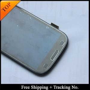 Image 4 - 100% נבדק סופר AMOLED 4.8 עבור Samsung S3 neo I9300i LCD תצוגה עבור סמסונג i9300 LCD מסך מגע Digitizer הרכבה