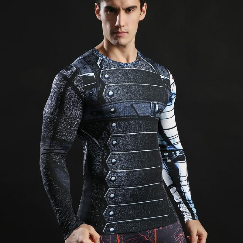 Winter Soldier Long Sleeve Shirt