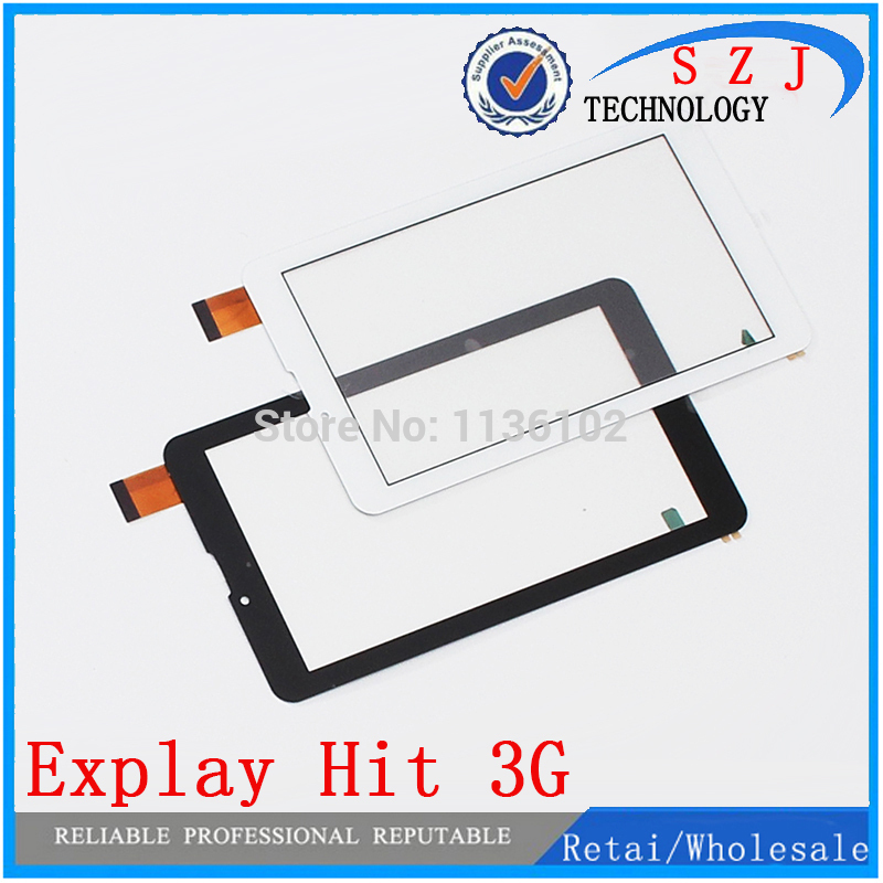 New Touch screen Digitizer 7 inch Explay Hit 3G Tablet Outer Touch panel Glass Sensor replacement Free Shipping 10Pcs/lot new 7 inch tablet capacitive touch screen replacement for dns airtab m76 digitizer external screen sensor free shipping